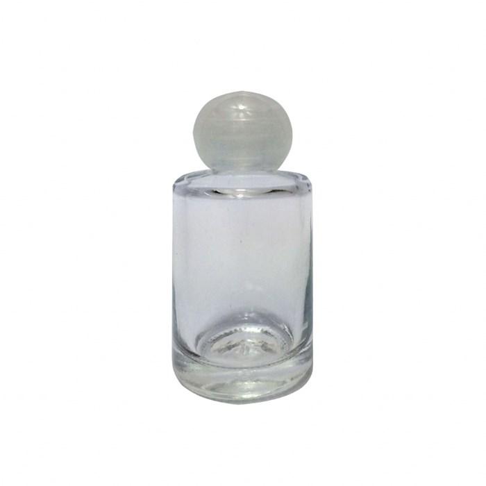 Vidro 10mL 1021 Tampa Plástica Transparente